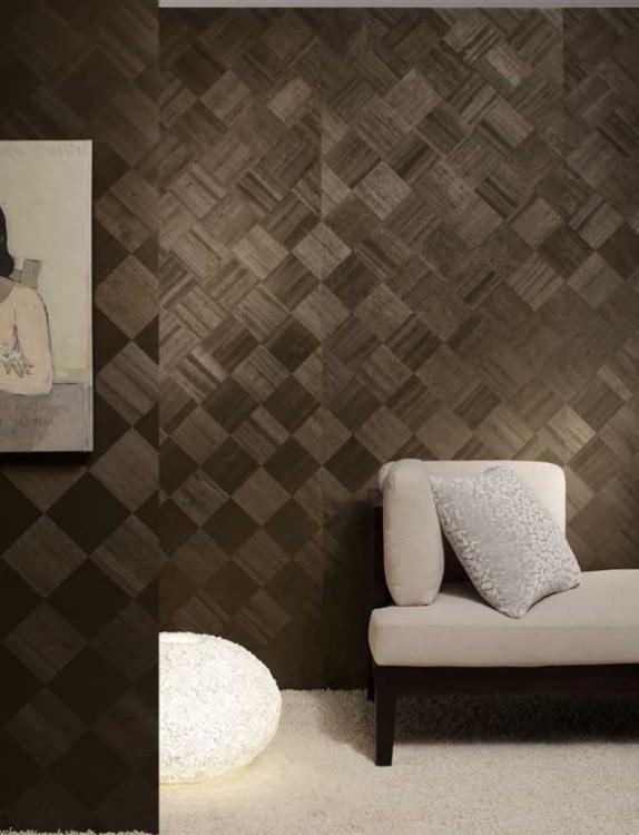 Geometric Wallpaper Accent Wall