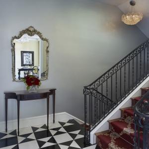 Robert Burg Design Chateau On Central Stairway Landing