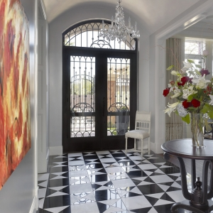Robert Burg Design Chateau On Central Foyer
